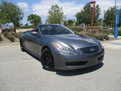2010 Infiniti G37 Convertible for sale in Wilmington CA