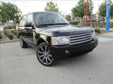 2008 Land Rover Range Rover for sale in Wilmington, CA