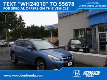 2016 Subaru Crosstrek for sale in Roanoke, VA