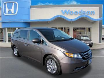 2016 Honda Odyssey for sale in Roanoke, VA
