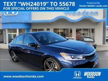2017 Honda Accord for sale in Roanoke, VA