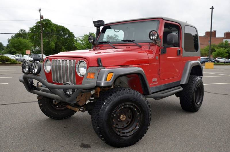 2004 Jeep Wrangler For Sale At TJ Auto Sales LLC In Fredericksburg VA