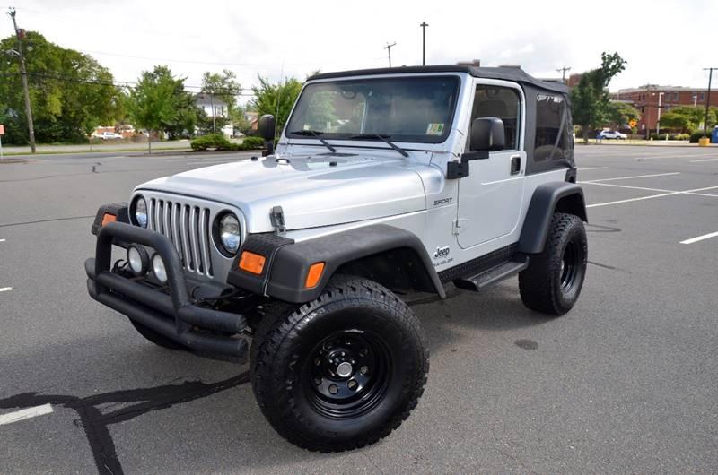 2003 Jeep Wrangler For Sale At TJ Auto Sales LLC In Fredericksburg VA