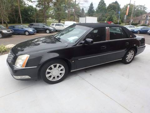 2007 Cadillac DTS for sale in Youngstown, OH