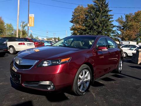 2012 Acura TL for sale in Youngstown, OH
