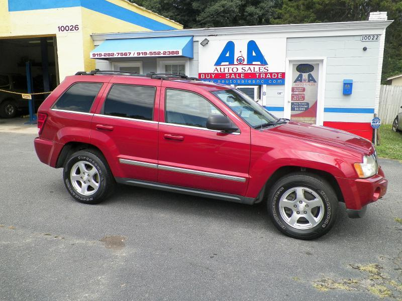 2006 Jeep Grand Cherokee Limited 4dr SUV w/ Front Side Airbags - Fuquay Varina NC
