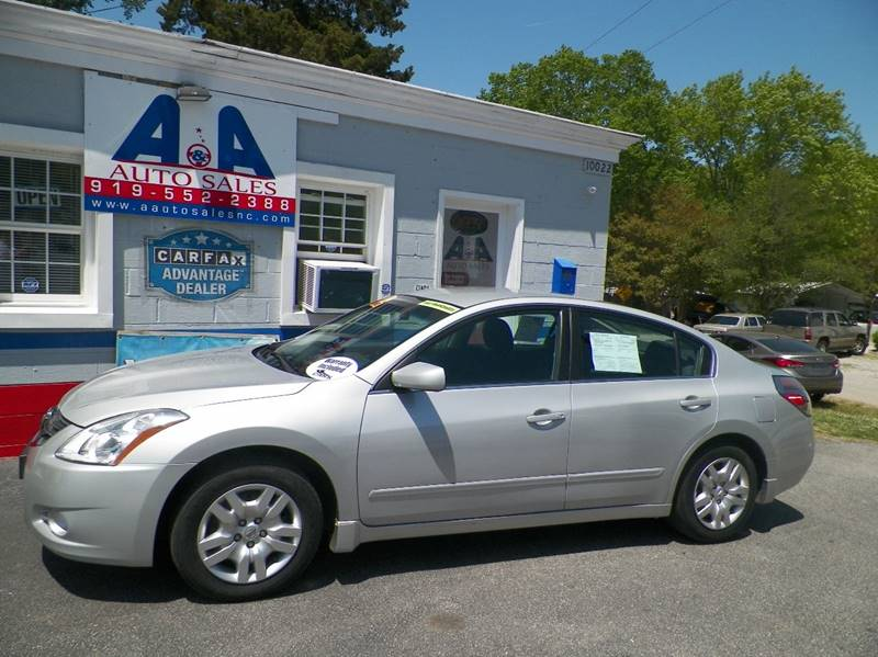 Nice 2012 Nissan Altima For Sale At Au0026A Auto Sales Llc In Fuquay Varina NC