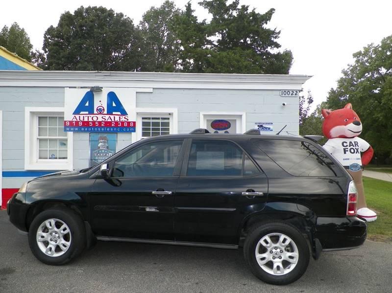 Acura MDX Touring WRES In Fuquay Varina NC AA Auto Sales Llc - 2004 acura mdx rims