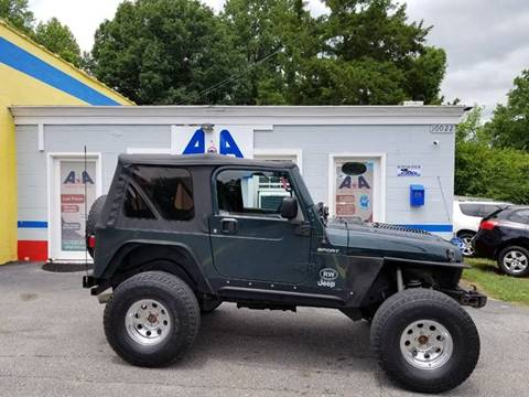 2005 Jeep Wrangler for sale in Fuquay Varina, NC