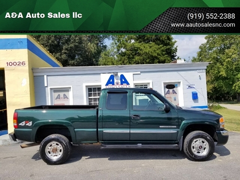 2003 GMC Sierra 2500HD for sale in Fuquay Varina, NC