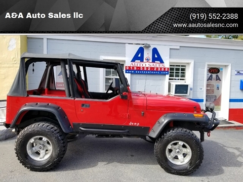 1994 Jeep Wrangler for sale in Fuquay Varina, NC