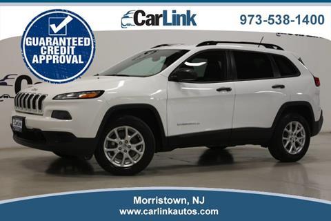2016 Jeep Cherokee for sale in Morristown, NJ