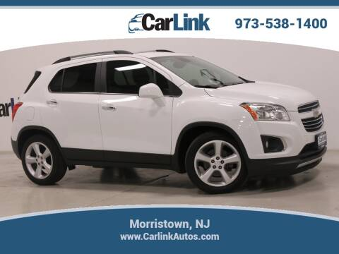 2015 Chevrolet Trax LTZ for sale at CarLink in Morristown NJ