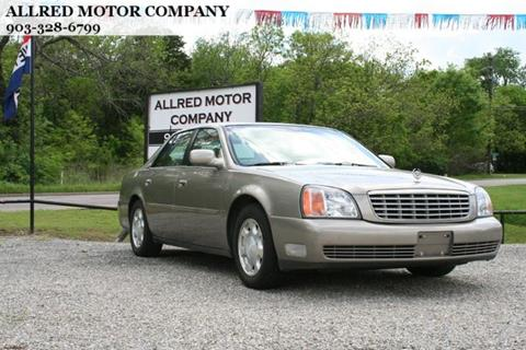 2001 Cadillac DeVille for sale in Sherman, TX