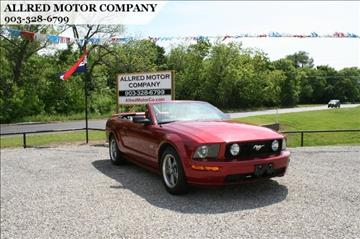 2005 Ford Mustang for sale in Sherman, TX