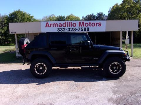 2007 Jeep Wrangler Unlimited for sale in Pearland, TX