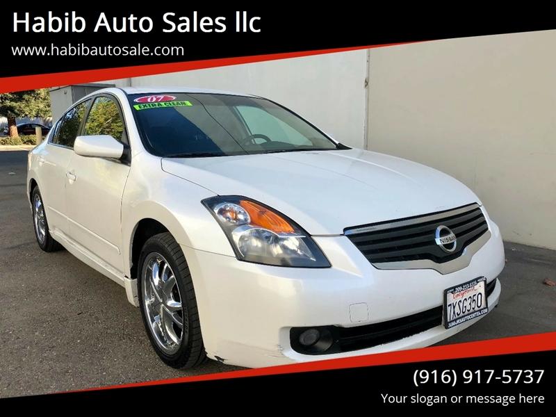 2007 Nissan Altima 25 S In Sacramento Ca Habib Auto Sales Llc