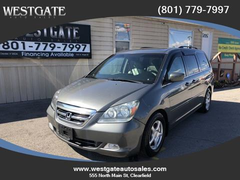 2007 Honda Odyssey for sale in Clearfield, UT