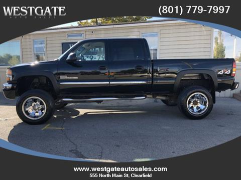 2004 GMC Sierra 2500HD for sale in Clearfield, UT