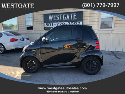 2014 Smart fortwo electric drive for sale in Clearfield, UT
