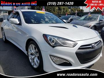 2015 Hyundai Genesis Coupe for sale in Los Angeles, CA