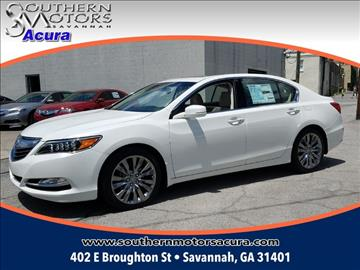 Acura rlx for sale for Southern motors savannah georgia