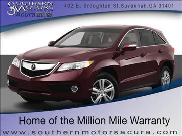 2013 Acura RDX for sale in Savannah, GA
