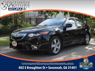 2013 Acura TSX for sale in Savannah, GA