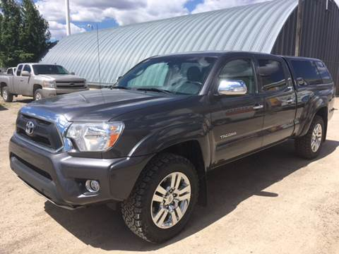 2015 Toyota Tacoma for sale at Canuck Truck in Magrath AB
