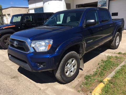 2014 Toyota Tacoma for sale at Canuck Truck in Magrath AB