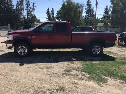 2009 Dodge Ram Pickup 2500 for sale at Canuck Truck in Magrath AB