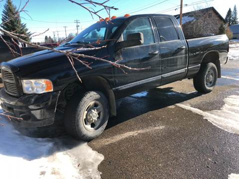 2005 Dodge Ram Pickup 3500 for sale at Canuck Truck in Magrath AB