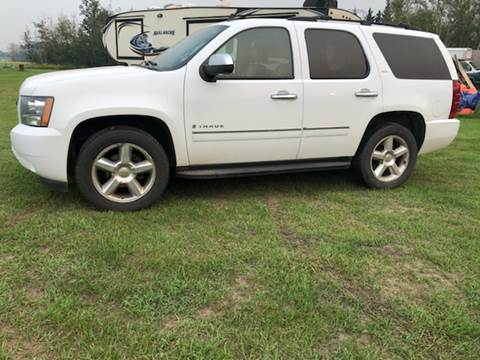 2009 Chevrolet Tahoe for sale at Canuck Truck in Magrath AB