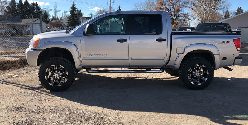 2008 Nissan Titan for sale at Canuck Truck in Magrath AB