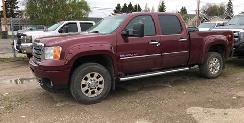 2014 GMC Sierra 3500HD for sale in Magrath, AB