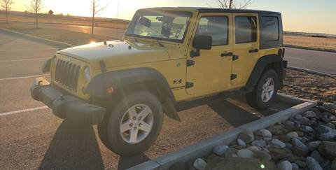 2008 Jeep Wrangler Unlimited for sale in Magrath, AB