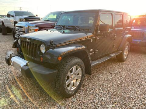 2011 Jeep Wrangler Unlimited for sale at Canuck Truck in Magrath AB