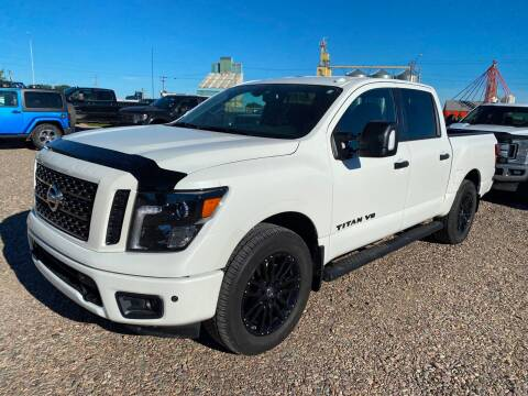 2018 Nissan Titan for sale at Canuck Truck in Magrath AB