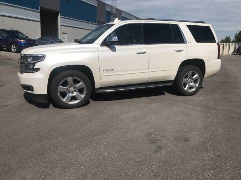 2015 Chevrolet Tahoe for sale at Canuck Truck in Magrath AB