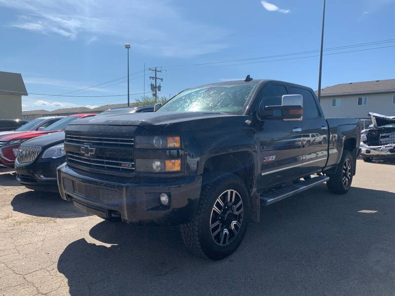 2016 Chevrolet Silverado 3500HD for sale at Canuck Truck in Magrath AB
