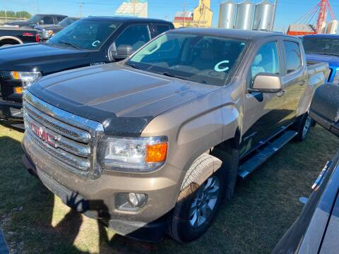 2016 GMC Canyon for sale at Canuck Truck in Magrath AB