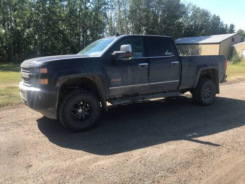 2016 Chevrolet Silverado 2500HD for sale at Canuck Truck in Magrath AB