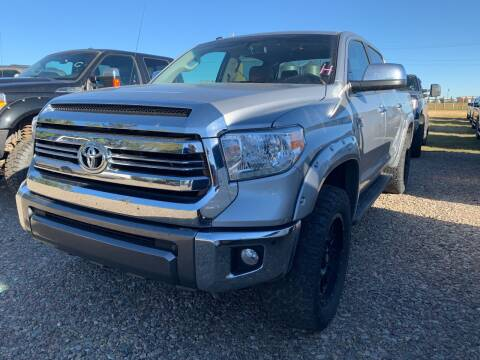 2016 Toyota Tundra for sale at Canuck Truck in Magrath AB