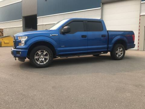 2015 Ford F-150 for sale at Canuck Truck in Magrath AB