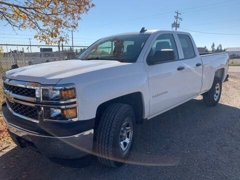 2015 Chevrolet Silverado 1500 for sale at Canuck Truck in Magrath AB
