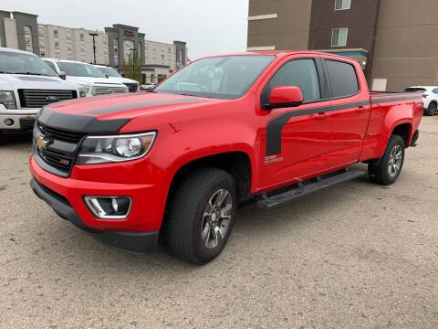 2018 Chevrolet Colorado for sale at Canuck Truck in Magrath AB
