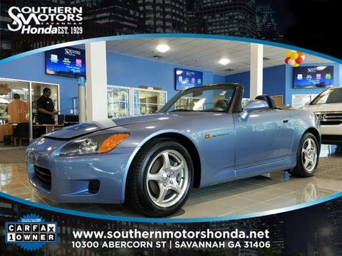 2002 Honda S2000 for sale in Savannah, GA