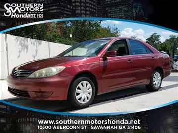 2005 Toyota Camry for sale in Savannah, GA