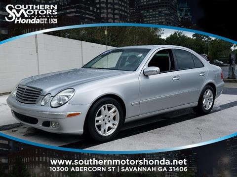 2004 Mercedes-Benz E-Class for sale in Savannah, GA