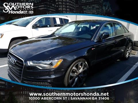 2013 Audi A6 for sale in Savannah, GA